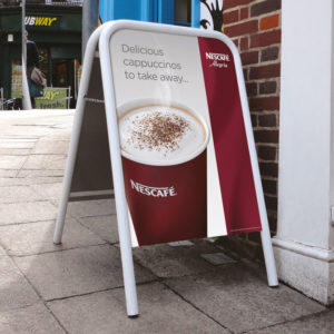 Pavement Signs and A-Boards